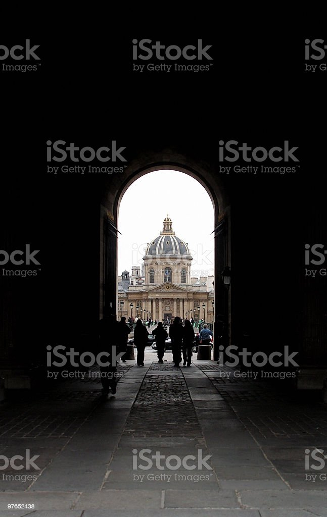 Light at the End of Tunnel. royalty-free stock photo