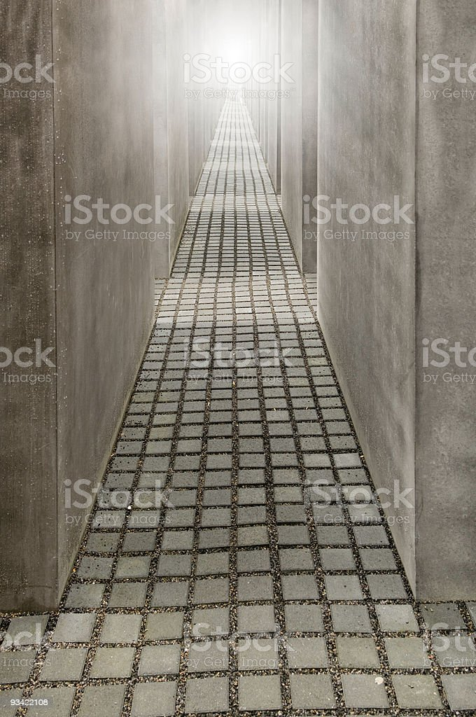 Light at the End royalty-free stock photo