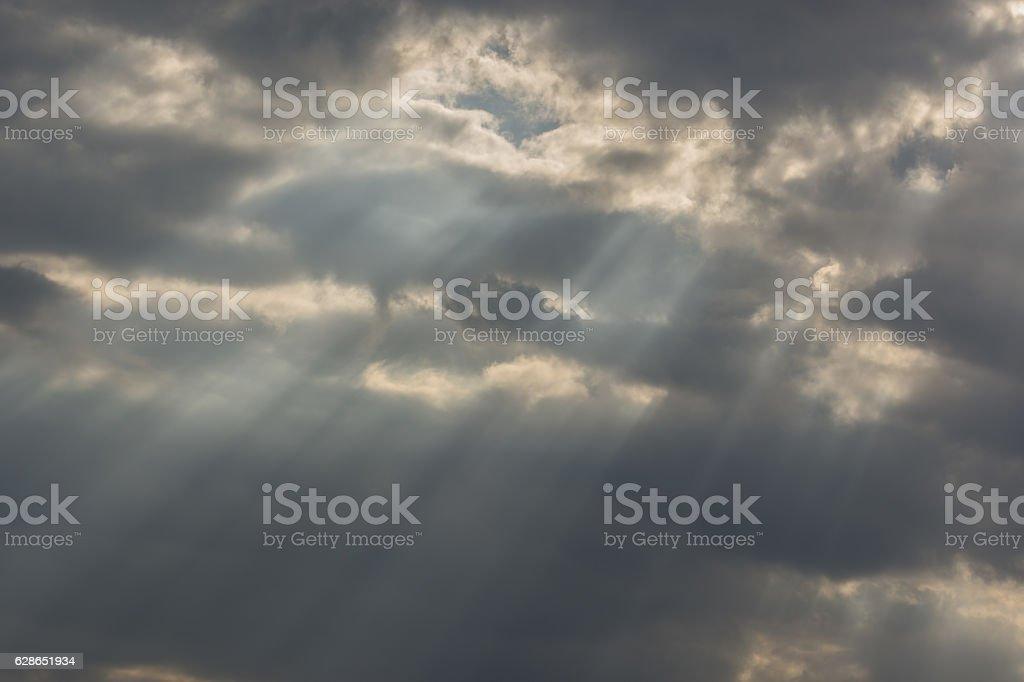 light beams stock photo