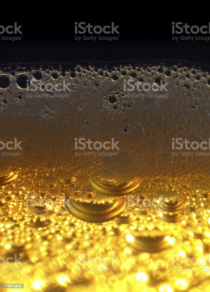 Light beer. royalty-free stock photo