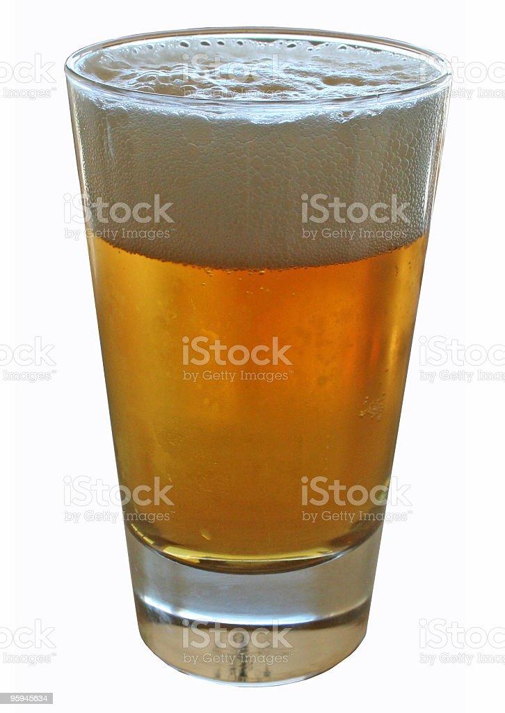 Lumière de la bière photo libre de droits