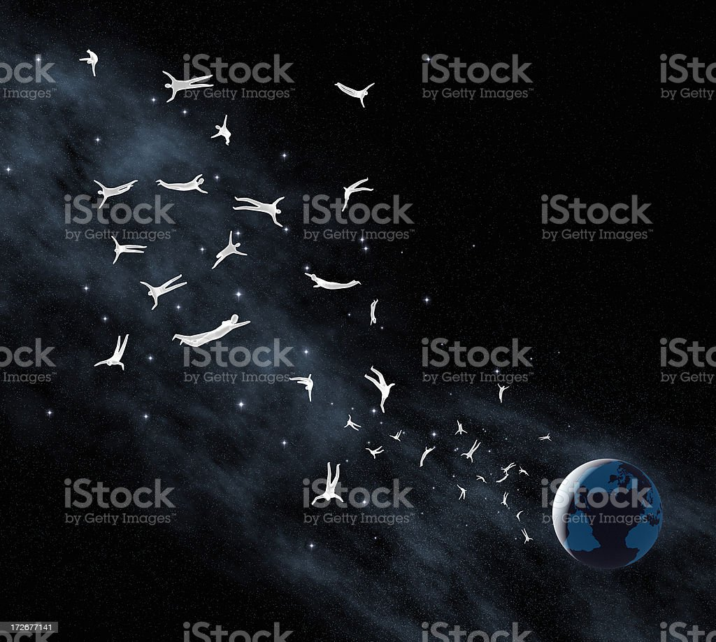 Light Beings XXL royalty-free stock photo