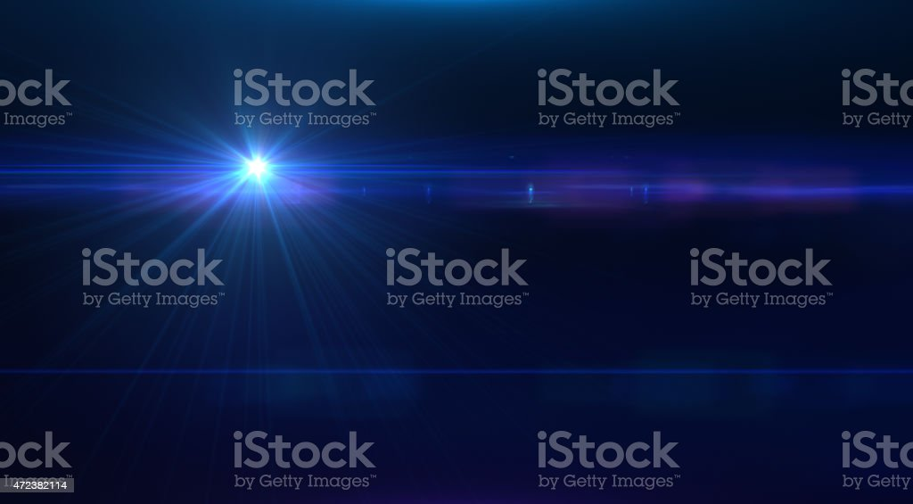 Light Blast stock photo