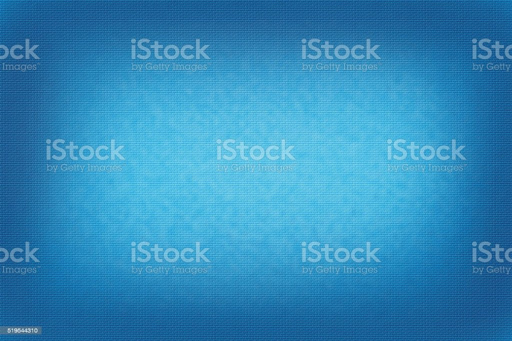 Light blue abstract bricks background with vignette stock photo