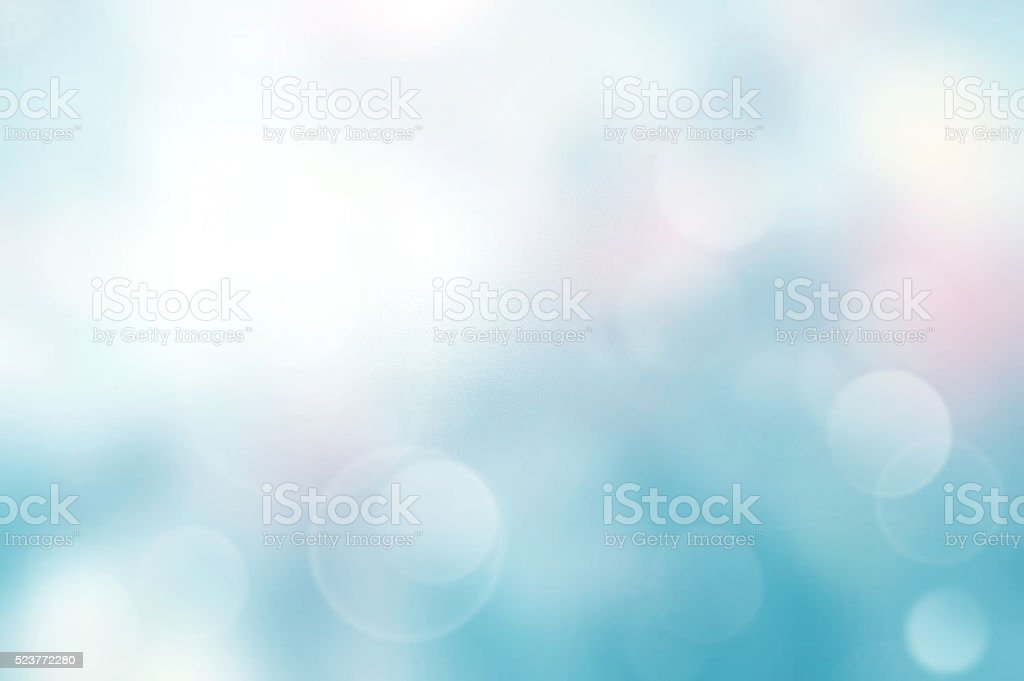 Light blue blurred abstract background. stock photo