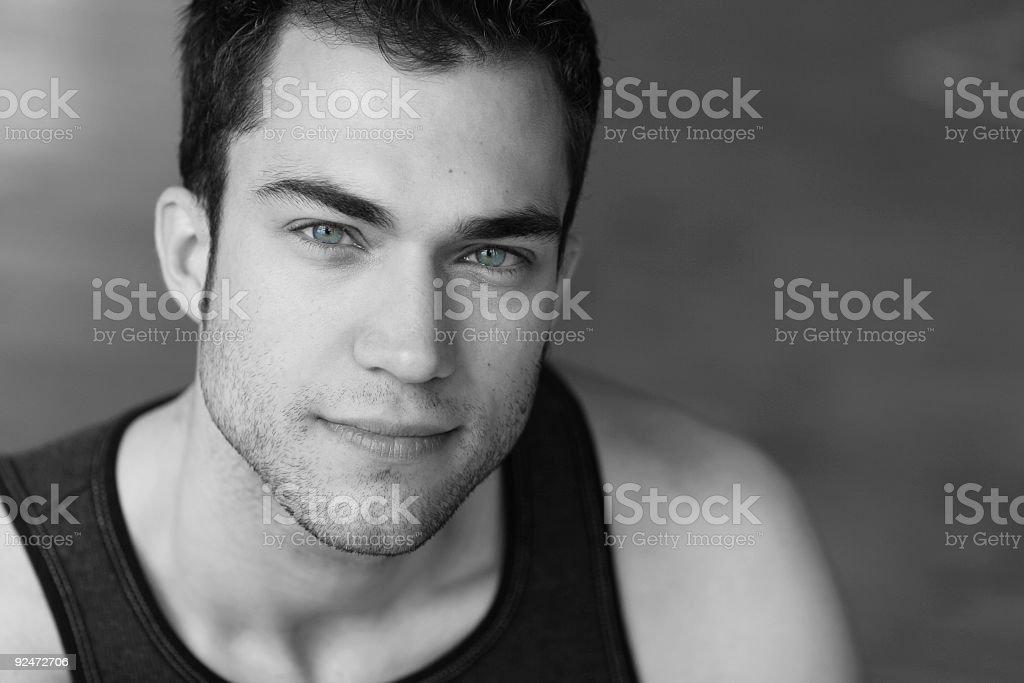 light blue eyes royalty-free stock photo