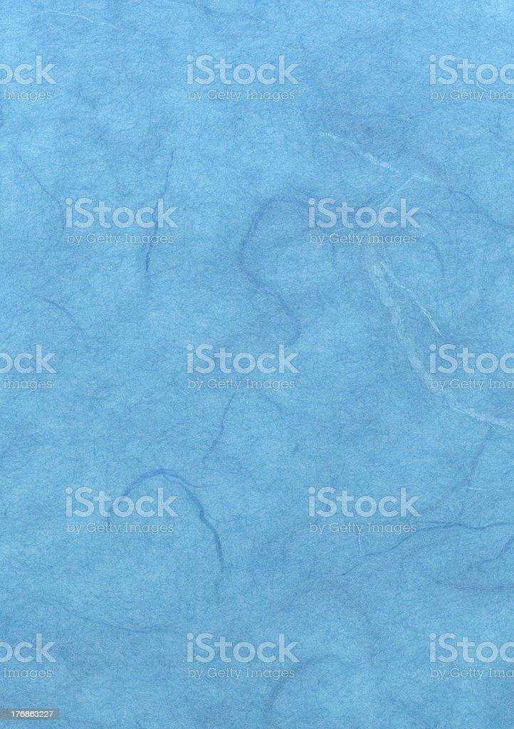 Light Blue Handmade Paper royalty-free stock photo