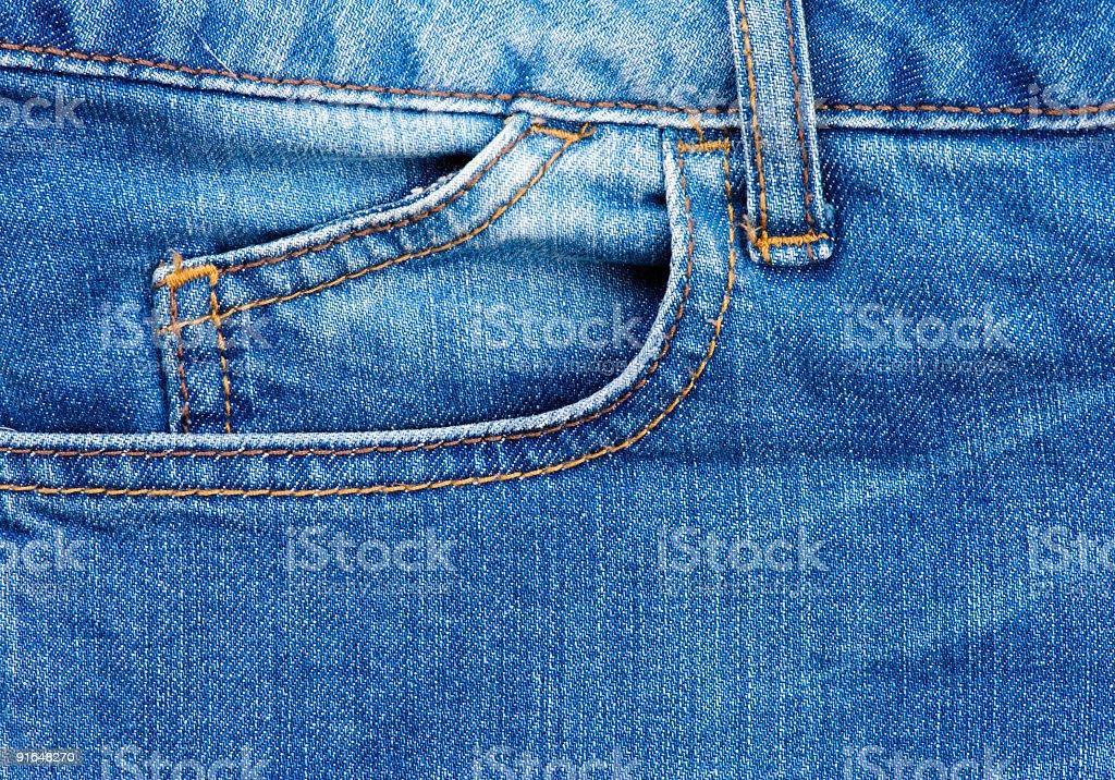 Light blue jeans background stock photo