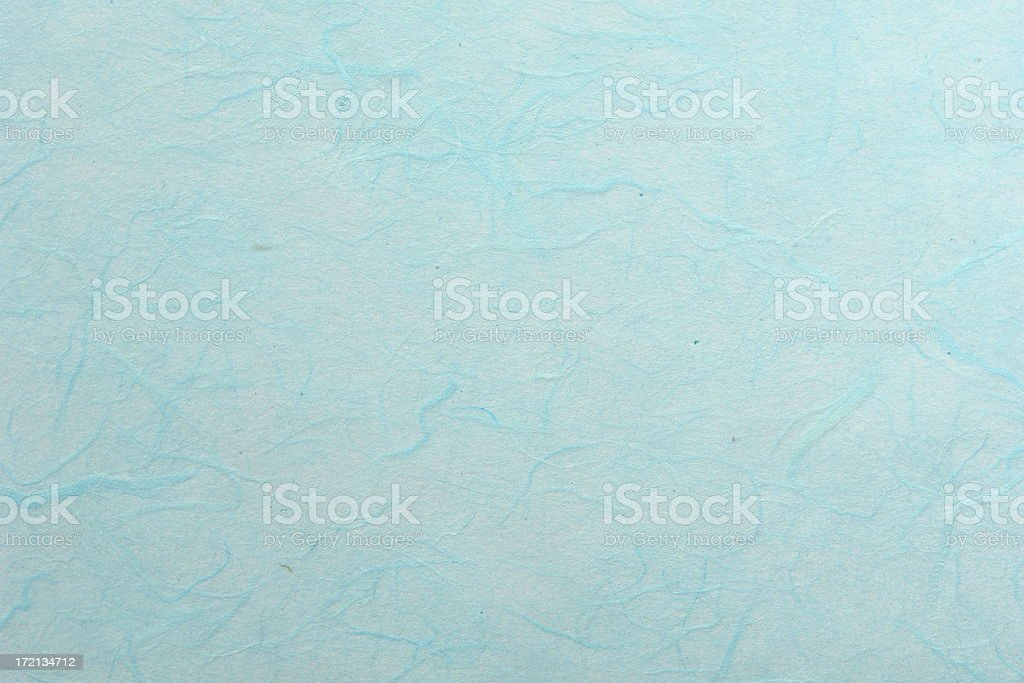 Light Blue Mulberry Paper Texture stock photo
