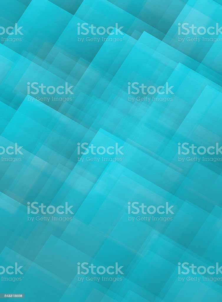 Light Blue Squares and Rectangles Shapes Background stock photo