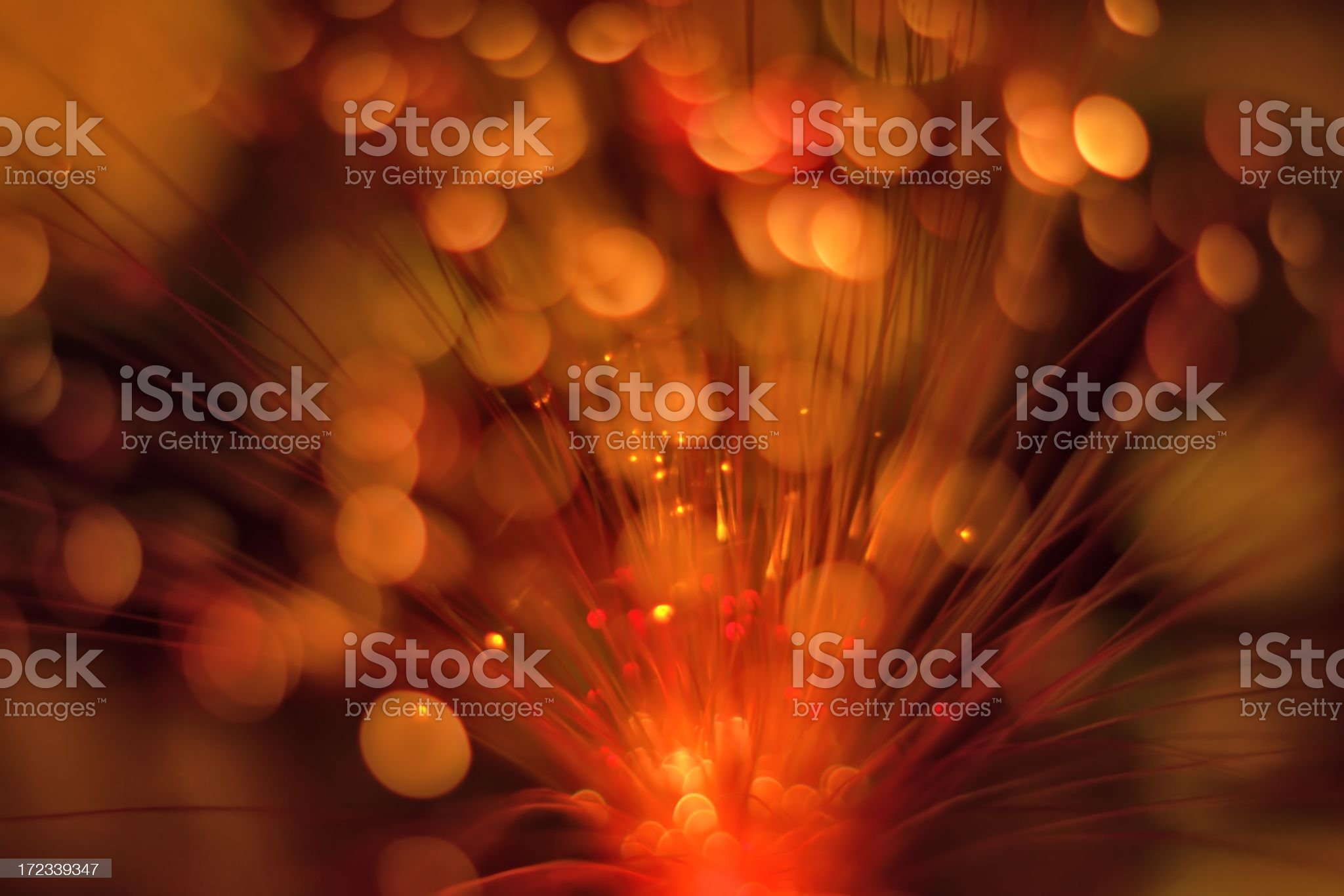 Light, blurred sparkles as background royalty-free stock photo