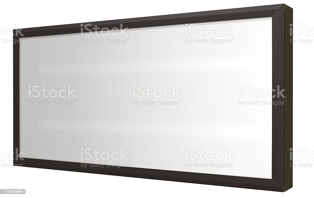 Light Box Perspective royalty-free stock photo