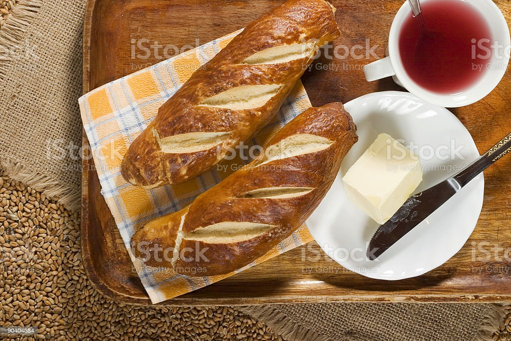 Light breakfast 2 royalty-free stock photo