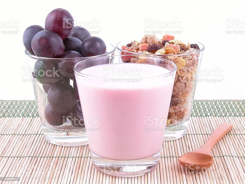 light breakfast royalty-free stock photo