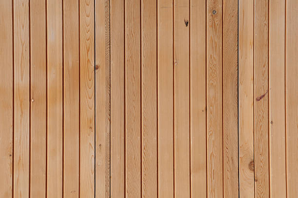 Light brown bamboo panels with thin strips stock photo - Wood Paneling Pictures, Images And Stock Photos - IStock