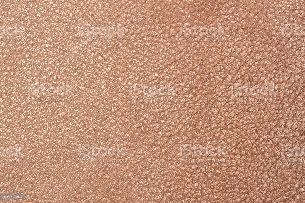 Light brown leather texture surface stock photo