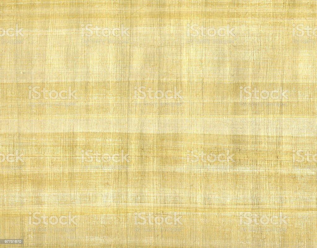 light brown papyrus sheet stock photo