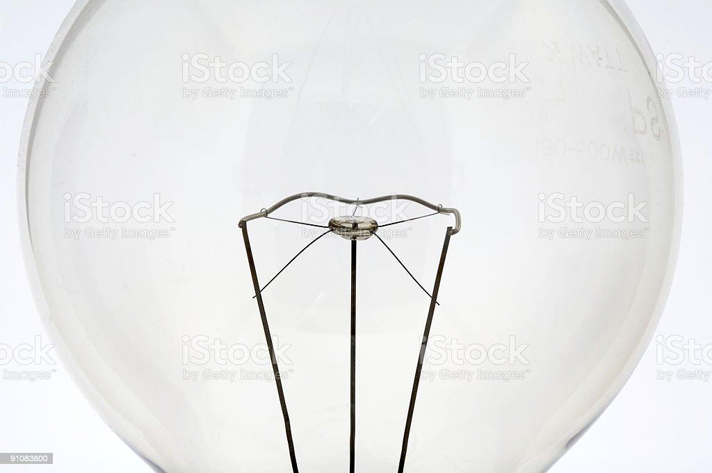 Light bulb 5 stock photo