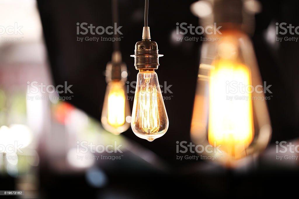 Light Bulb Close-up stock photo