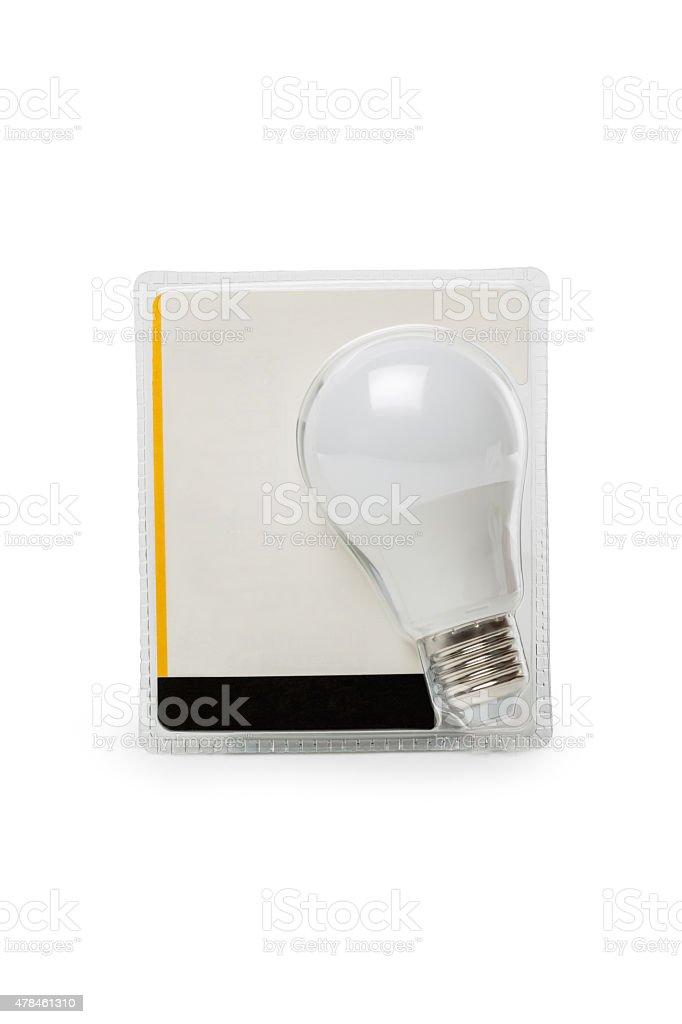 Light bulb in packing stock photo