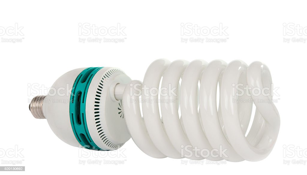 Light Bulb isolated stock photo