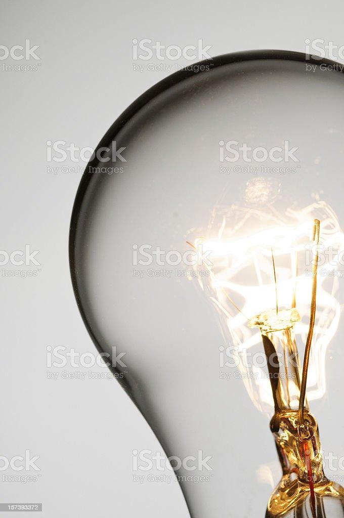 Light Bulb Macro stock photo