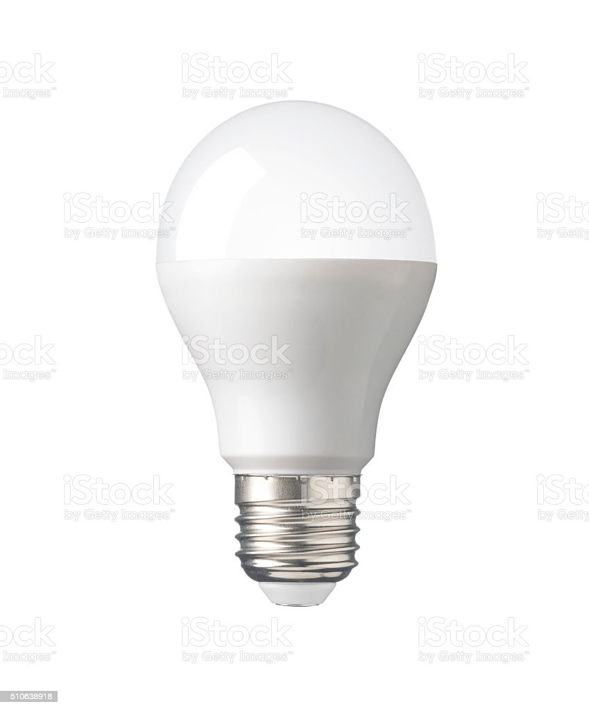 LED Light bulb, New technology electric lamp for saving, environment stock photo