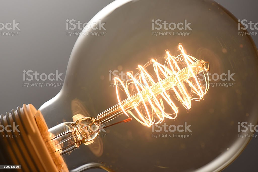light bulb stock photo