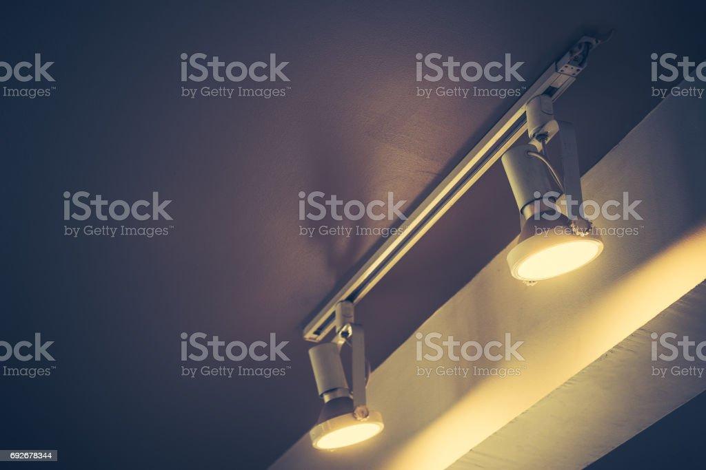 light bulb tone vintage stock photo