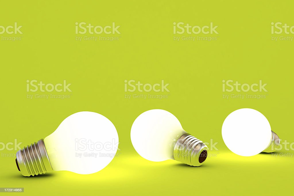 Light bulbs royalty-free stock photo