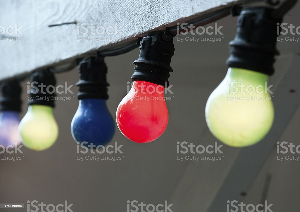 Light bulbs royalty-free stock photo