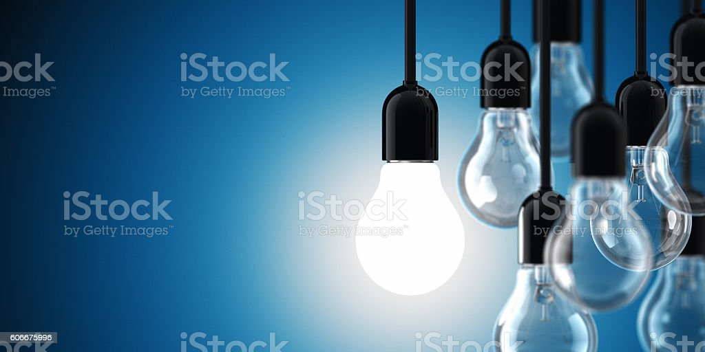 Light Bulbs stock photo