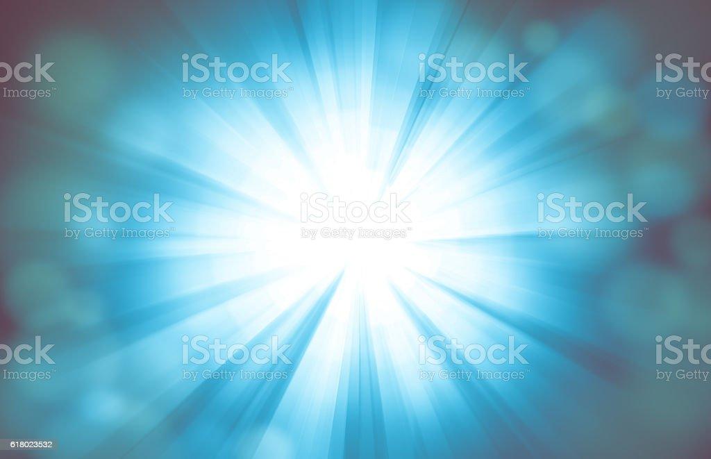 Light Burst Abstract Background stock photo