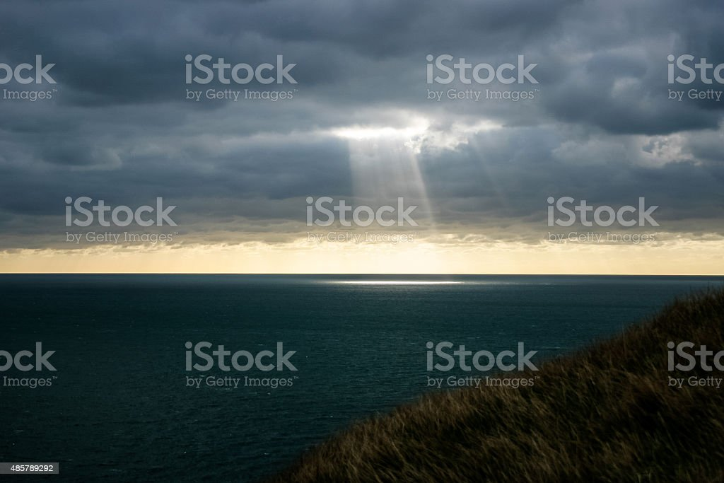 Light Burst stock photo
