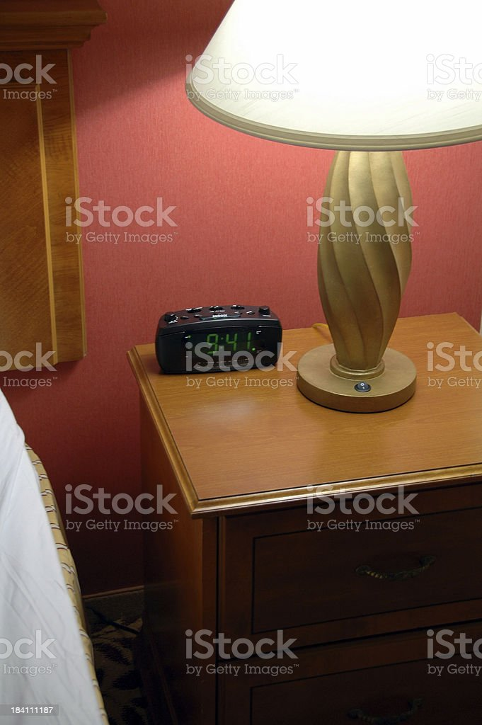Light by Bed royalty-free stock photo