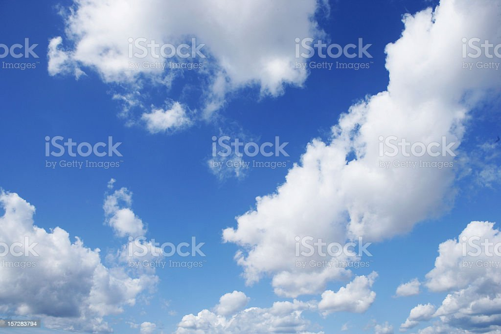Light clouds royalty-free stock photo