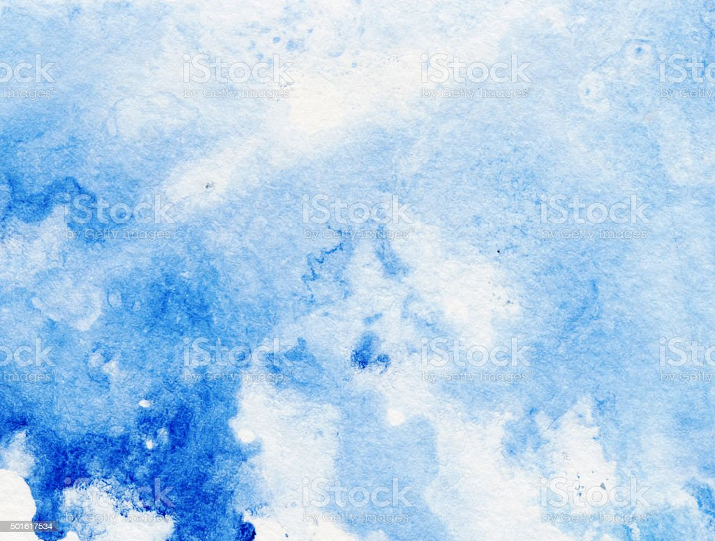 Light Colored Pastel Blue Abstract Background Stock Photo