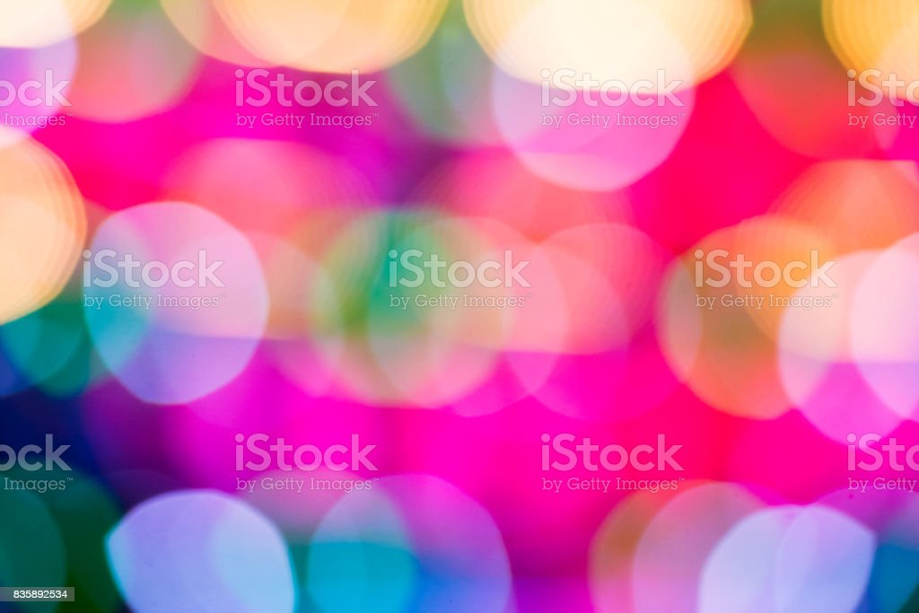 Light colors romantic abstraction stock photo