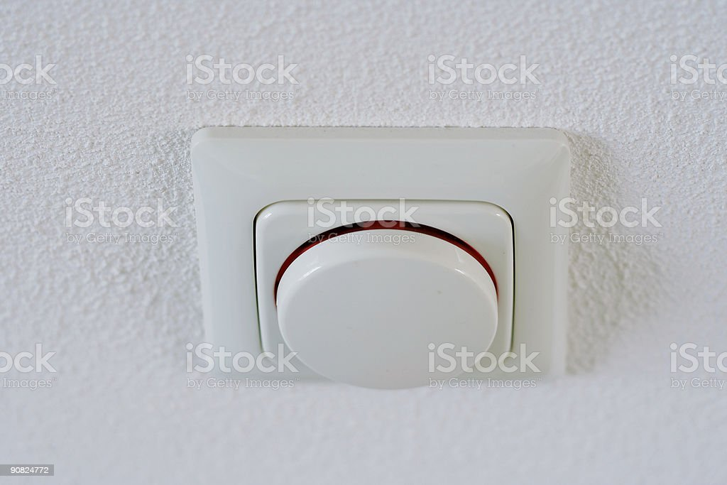 light dimmer switch stock photo