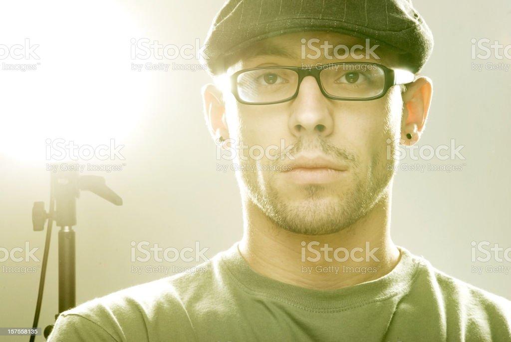 Light director stock photo