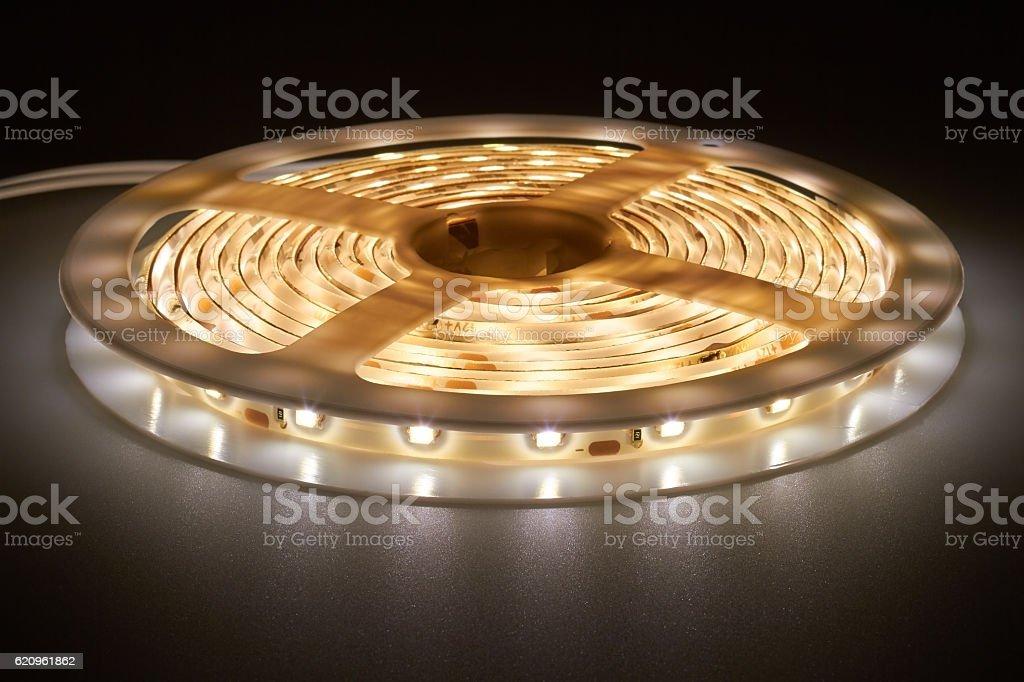 light emitting diodes stock photo