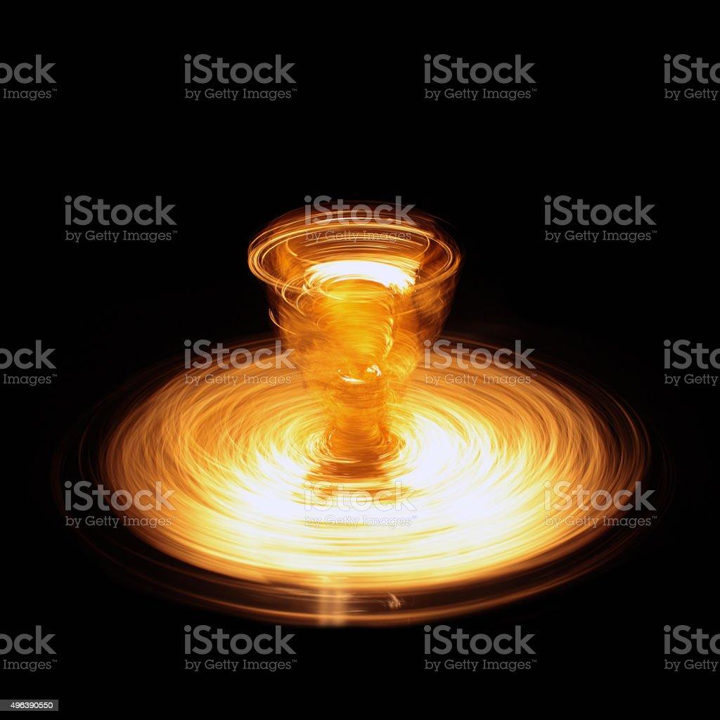 Light energy stock photo