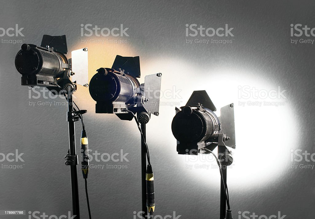 Light equipment royalty-free stock photo
