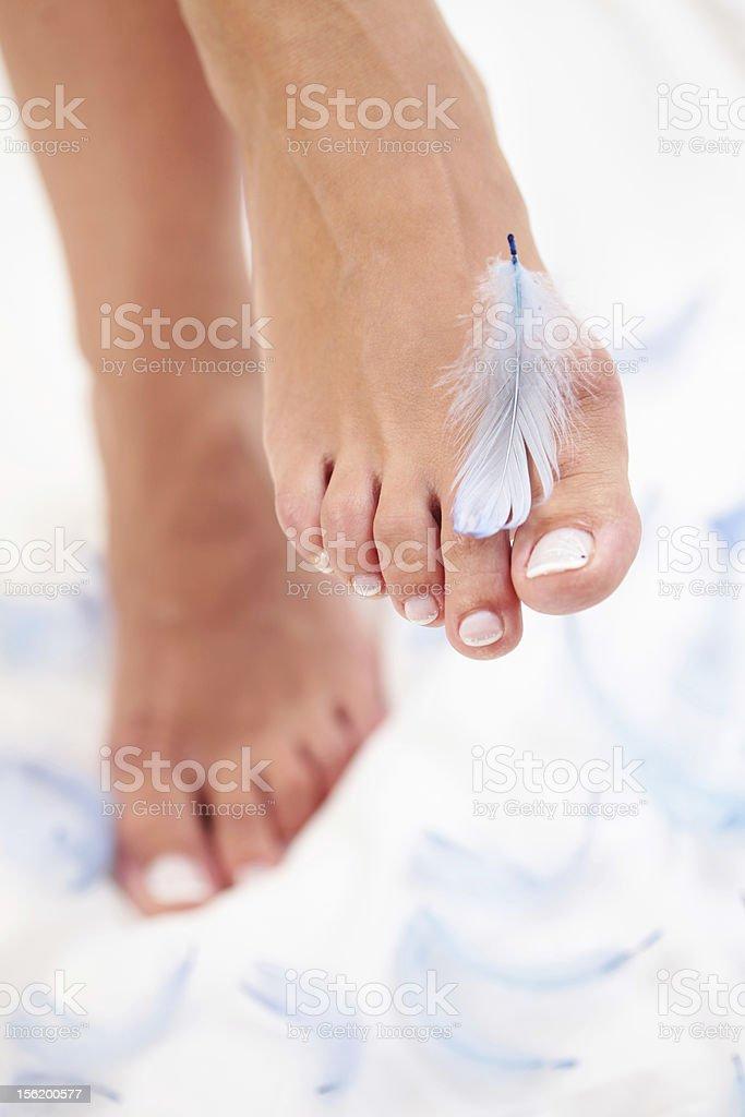 light feet royalty-free stock photo