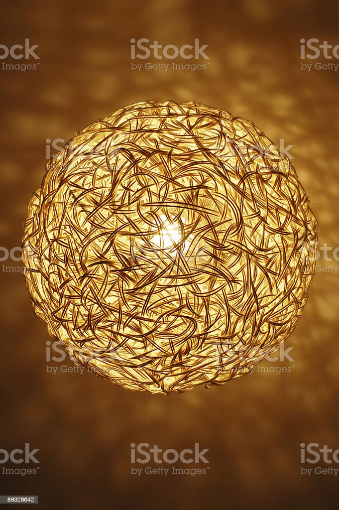 light fitting royalty-free stock photo