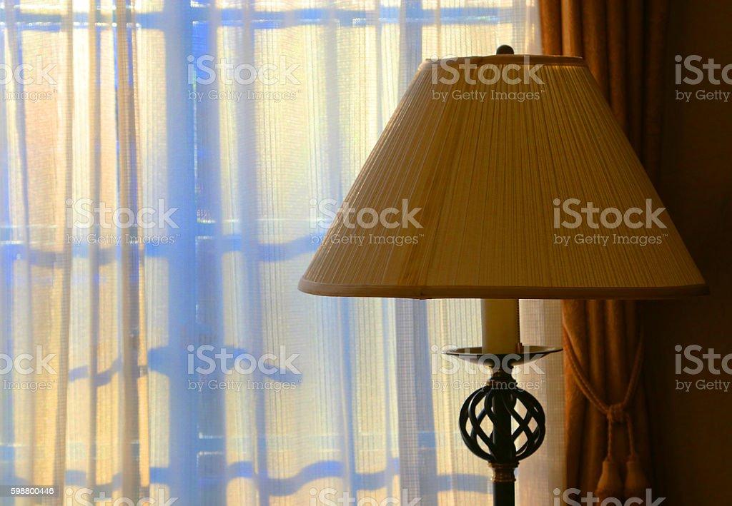 Light from a window of the early morning foto de stock libre de derechos