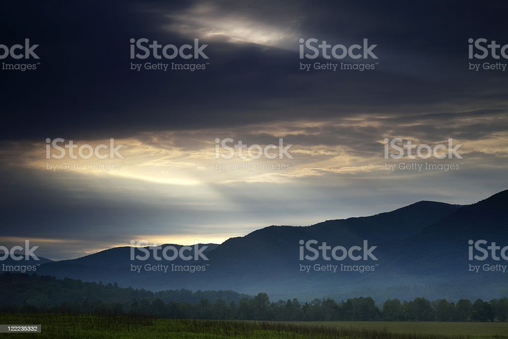 Light from Above royalty-free stock photo