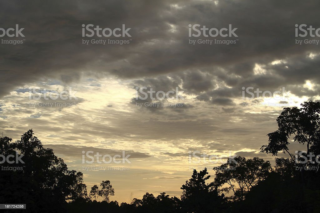 Light from the sky royalty-free stock photo