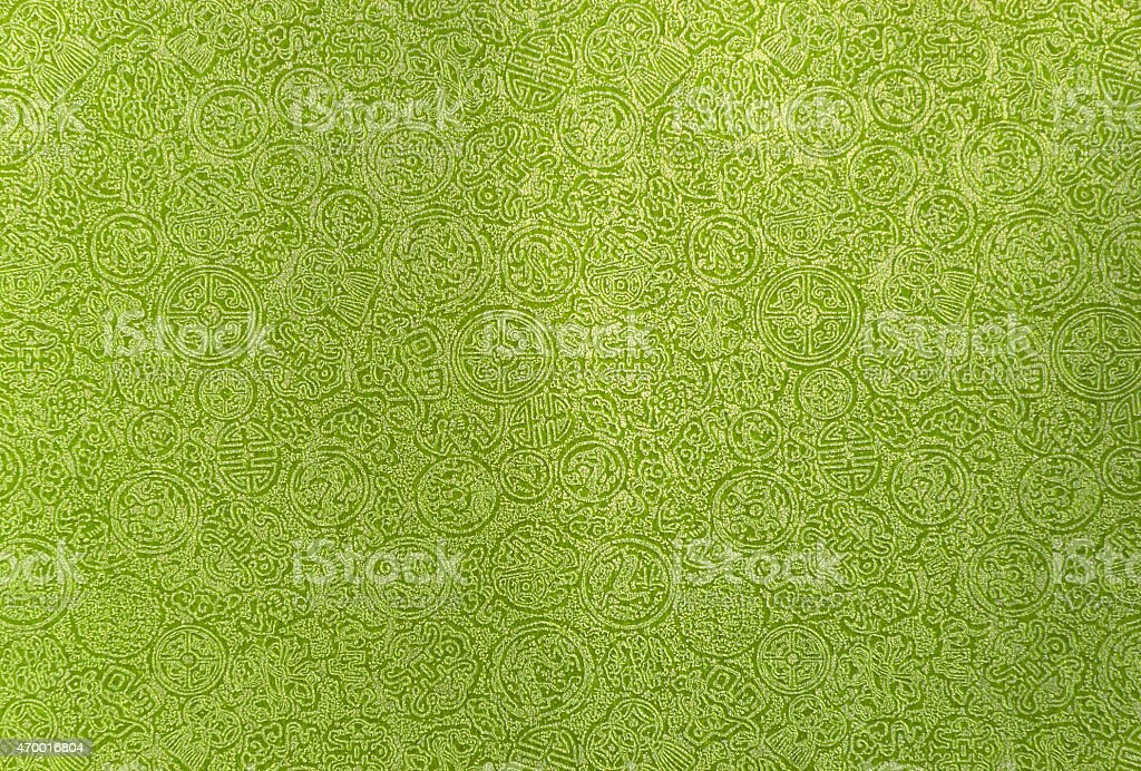light green Chinese pattern background royalty-free stock photo