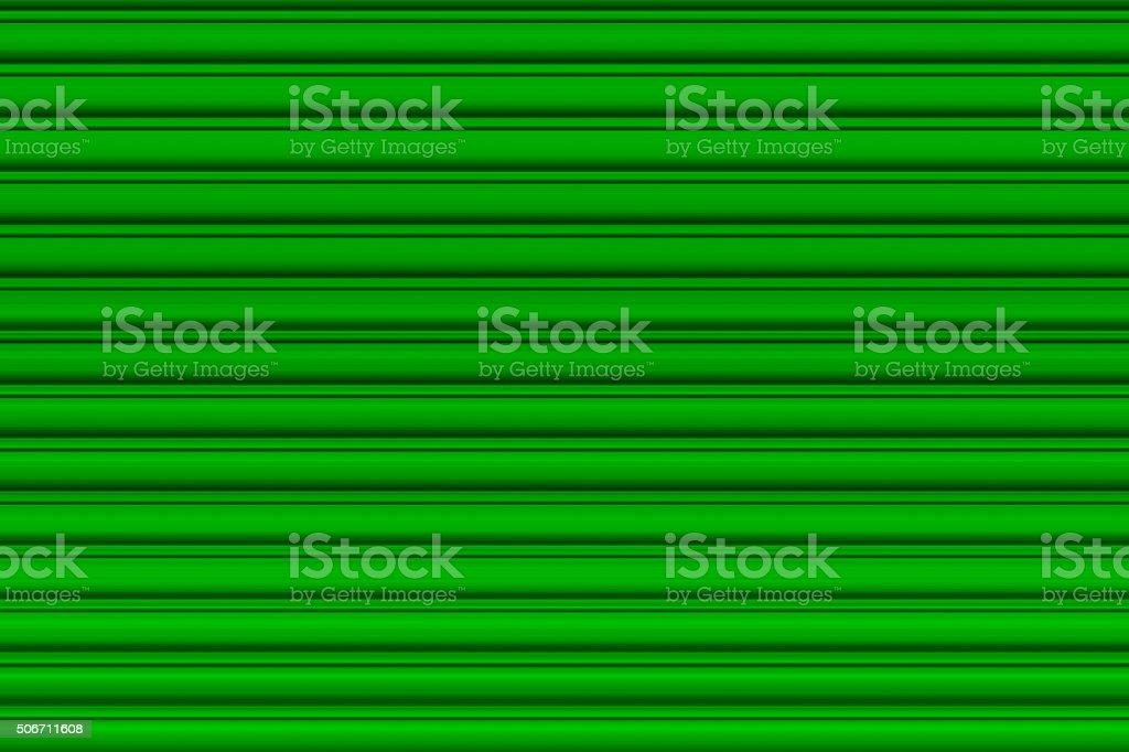 Light green garage door stock photo